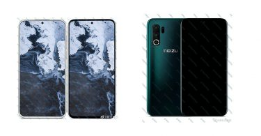 New renders of alleged Meizu 17 reveals Quad rear cameras and puch-hole front camera