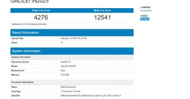 Alleged OnePlus 8 Geekbench Reveals Specs of the device Snapdragon 865 SoC, 8GB RAM