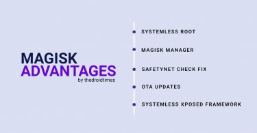 Magisk zip advantages