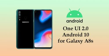 Samsung Galaxy A8s One UI 2.0 (Android 10) update is now live
