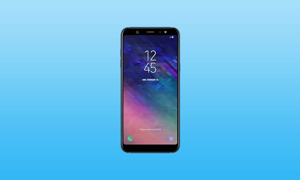 Samsung Galaxy A6 + One UI-i tutur 2.0 Sabit Android 10 yeniləməsi ilə (link daxilində yükləyin)