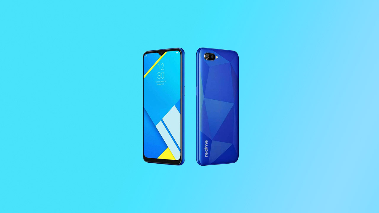 Realme C2 gets RMX1941EX_11.A.25 May 2020 Security Patch Update
