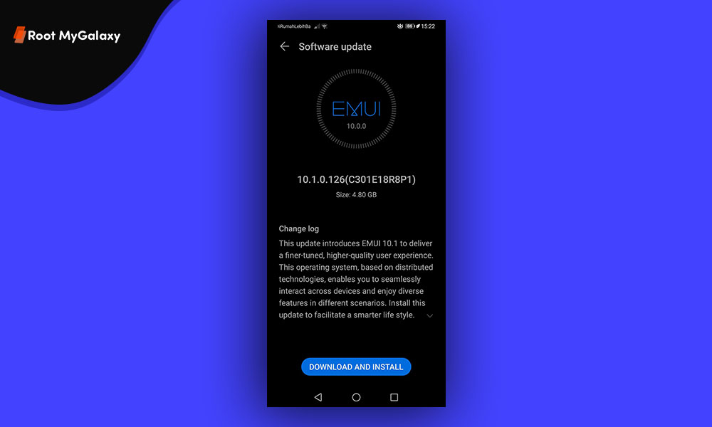 Huawei P30 and P30 Pro EMUI 10.1 Update Indonesia