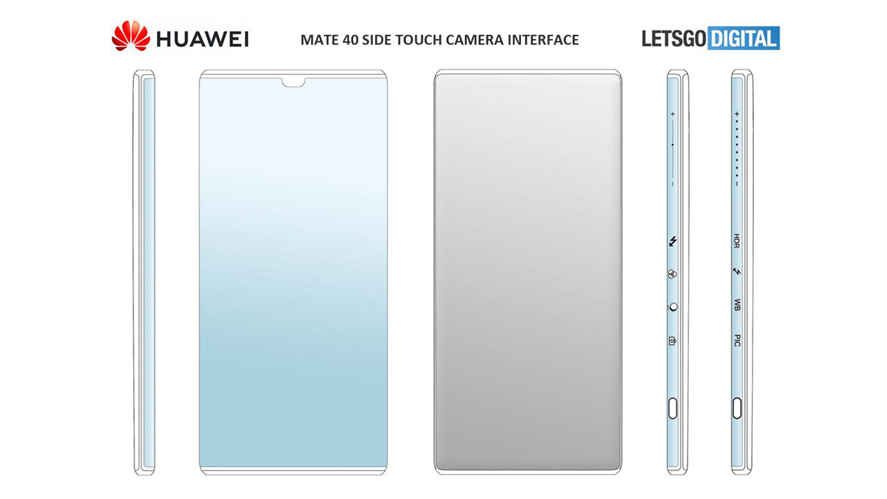 Upcoming Huawei Phone may come with a new Side-Touch camera interface