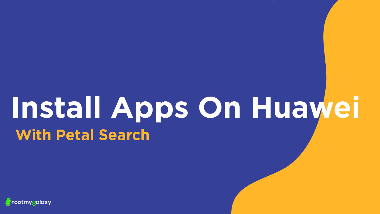 Install APPs using Petal Search on Huawei Phones (APK)