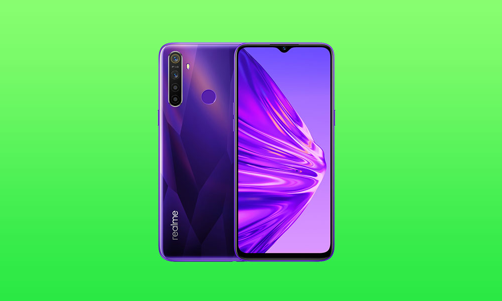 Realme UI update for Realme 5, 5i & 5s (Android 10) is up for download and manual installation
