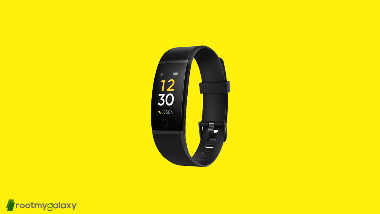 Realme Band V8.0 update is up for grabs