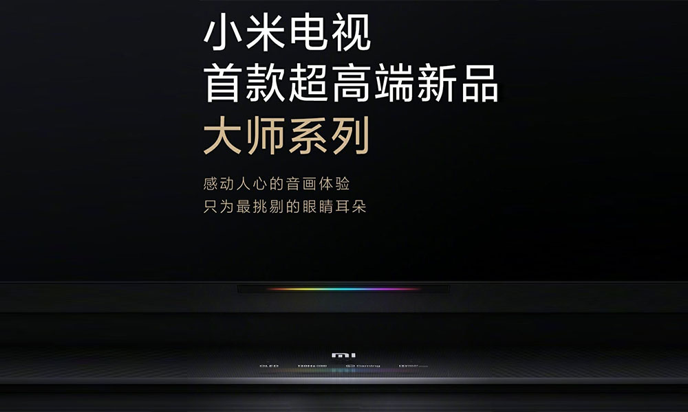 Xiaomi's High end smart OLED TVs to launch On July 2