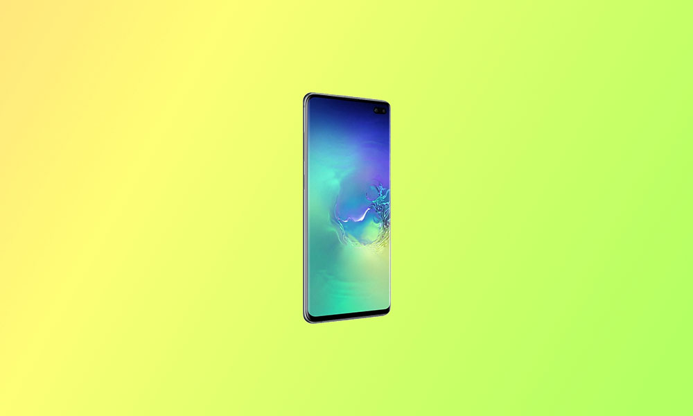 Update Galaxy S10 Plus to Android 10 Via AOSiP OS
