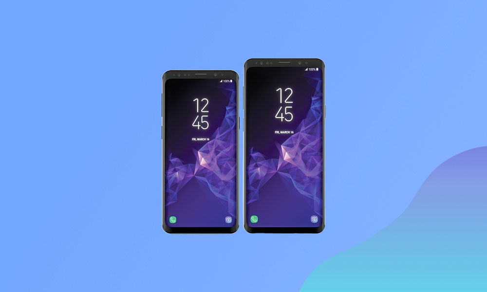 Galaxy S9 and S9+ Android 11 (R) - One UI 3.0 update tracker