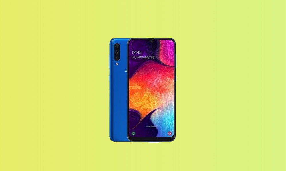 A505GUBS5BTG1: Galaxy A50 receives July security update