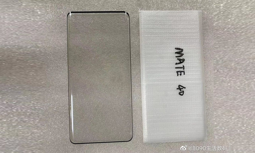 Huawei Mate 40 to have a curved display, alleged screen protector of the device leaked