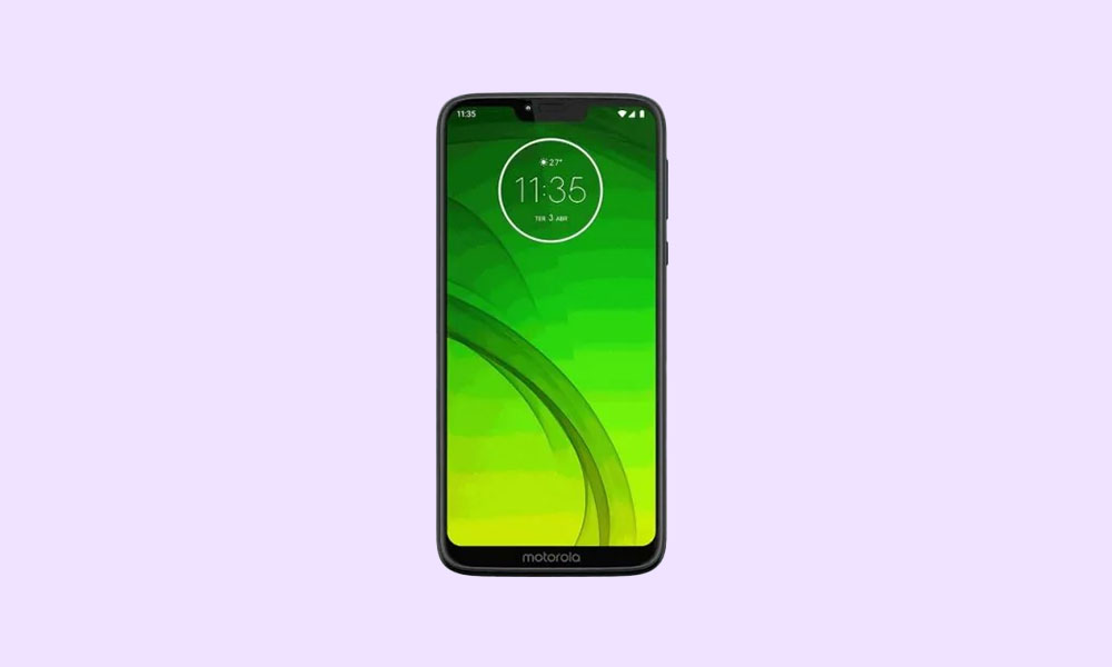 Verizon and T-Mobile Moto G7 Android 10 (QPU30.52-23) update