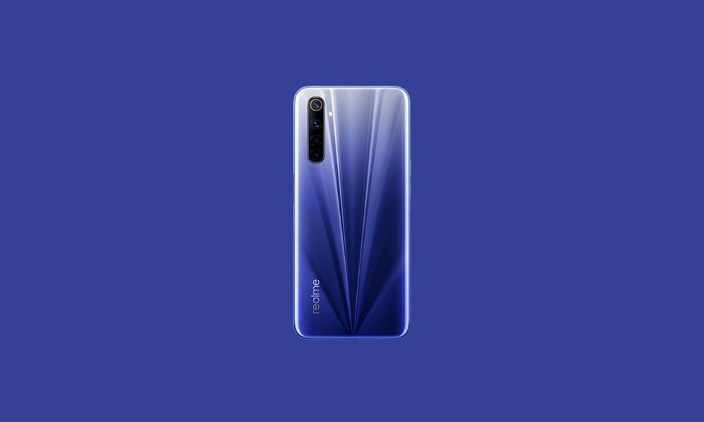 RMX2001_11.B.37: Realme 6 gets B.37 June 2020 security