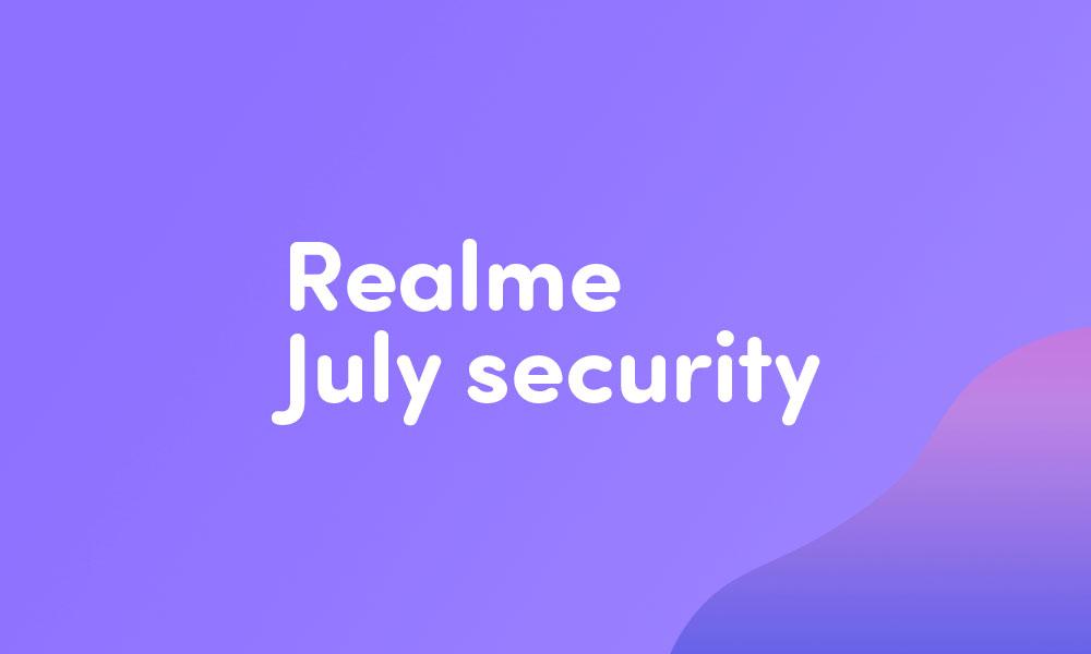 Realme U1 gets C.20 July security patch (RMX1831EX_11.C.20)
