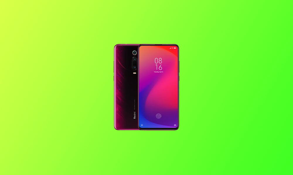 V12.0.1.0.QFJINXM: Redmi K20 MIUI 12.0.1.0 India stable ROM rolls out