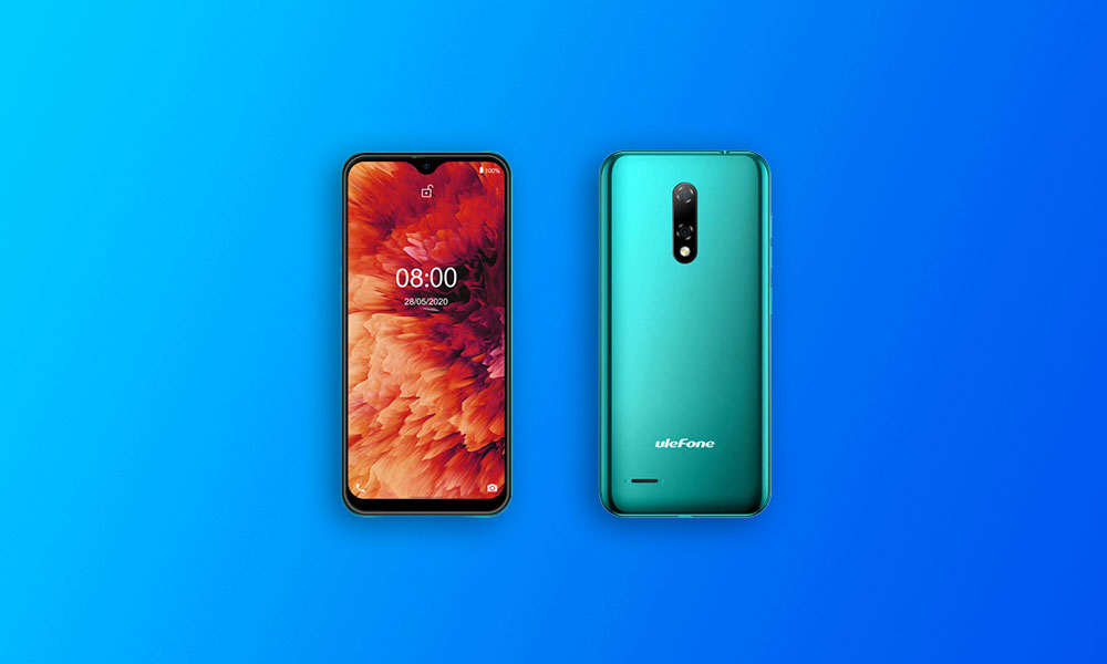 Install Stock ROM On Ulefone Note 8P (Android 10 Firmware)