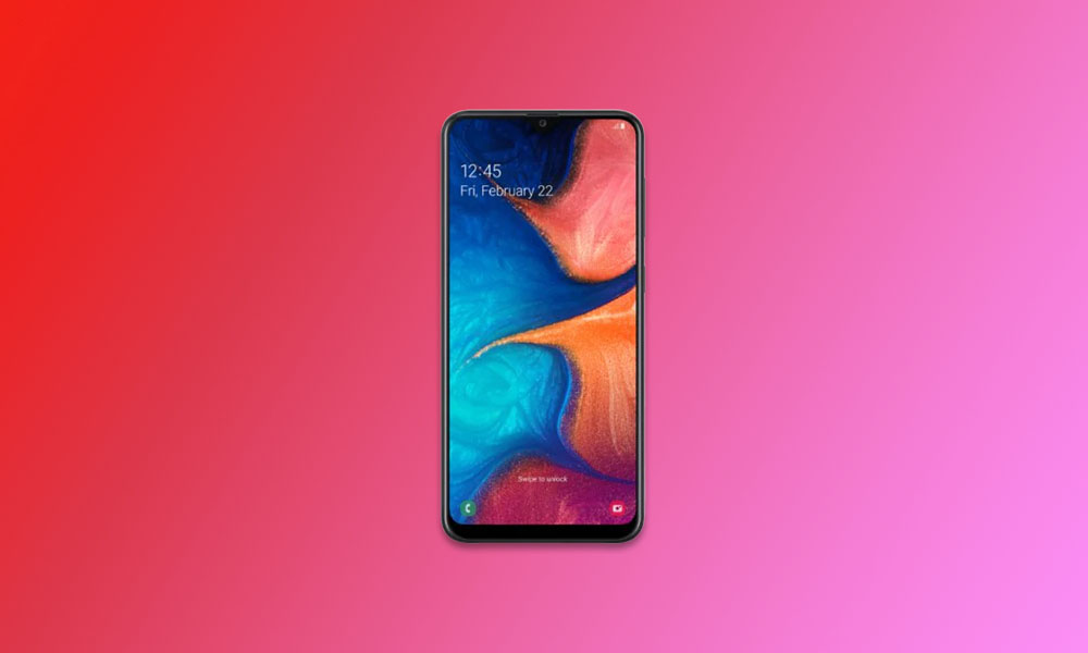 Galaxy A20e A202FXXU3BTG2 July Security Patch is up for grab in Europe