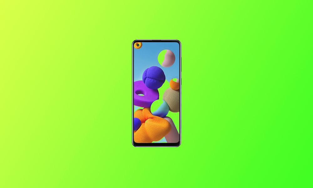 A217MUBU2ATG5: Galaxy A21S's August Security In South America