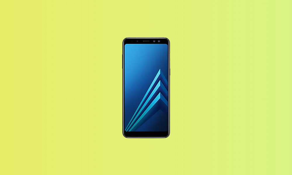 A530FXXSECTH1: Galaxy A8 2018 bags August Security In South America