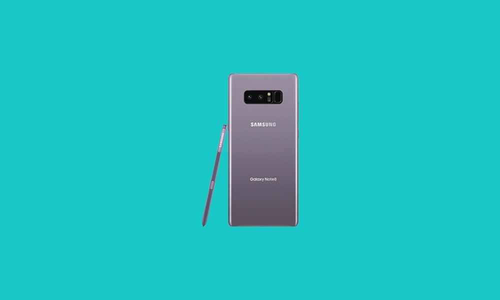 Sprint and T-mobile Galaxy Note 8 bags N950USQU8DTG1 July 2020 security