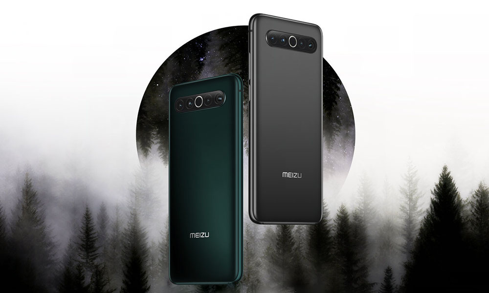 """Meizu 17 now has two new colors, """"AG Interstellar Gray"""" and """"AG Field Green"""""""