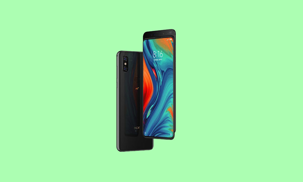 V12.0.1.0.QEEMIXM: Mi Mix 3 MIUI 12.0.1.0 Global stable ROM