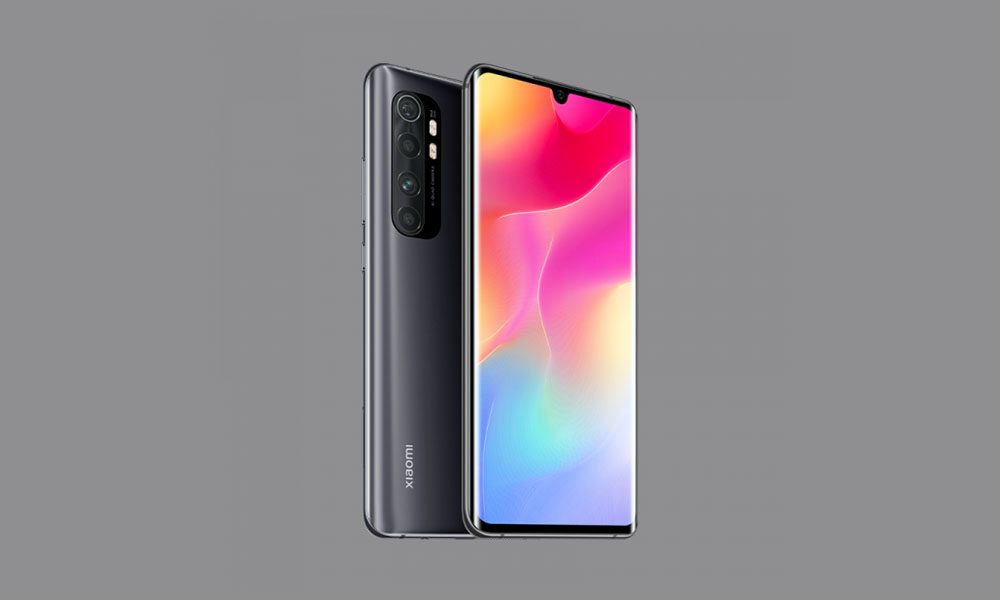 V12.0.1.0.QFDMIXM: Mi Note 10 MIUI 12.0.1.0 Global stable ROM rolls out (Download)
