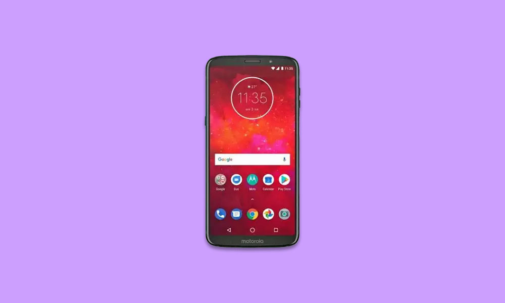 Moto Z3 Play picking up the July 2020 Security Patch update