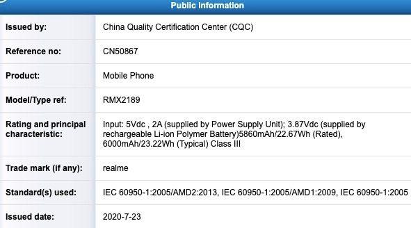 Realme C12 - certification(4)