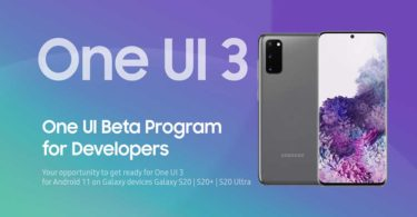 Samsung announces One UI 3 Beta Update based on Android 11 for Samsung Galaxy S20 Series