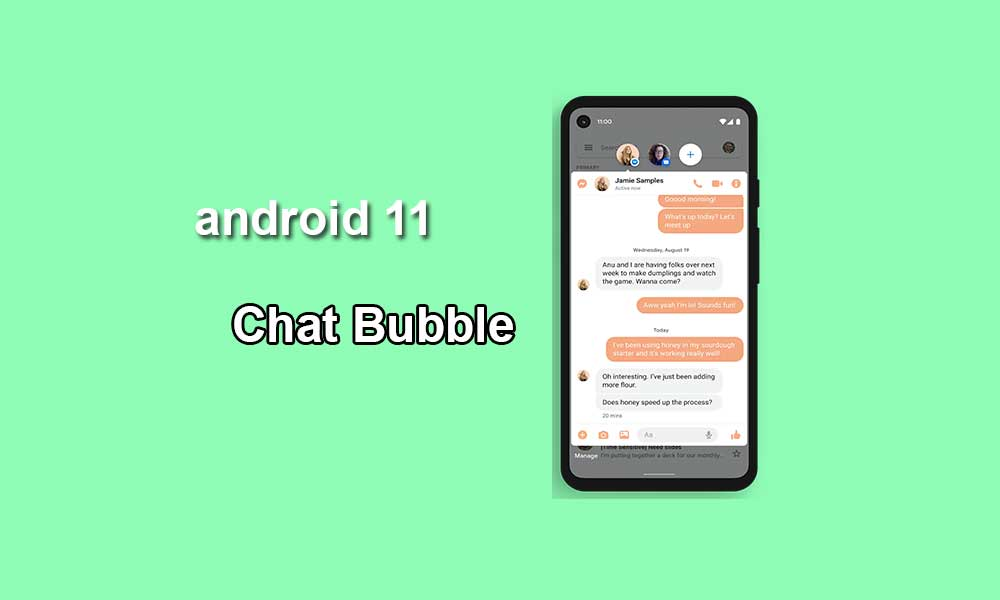 Chat Bubble on Android 11: How To Enable It (Guide)