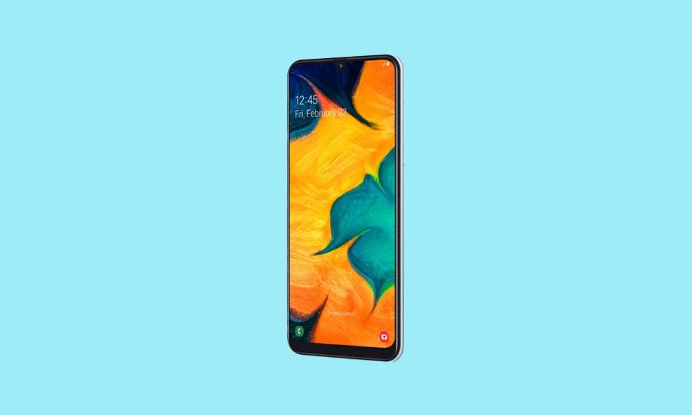 September Security Patch 2020: A305GUBS6BTI3 For Galaxy A30