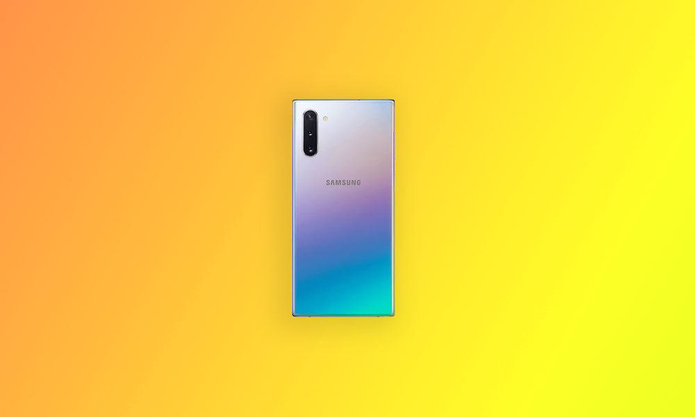 N970USQU4DTH7: September 2020 Security Patch Sprint Galaxy Note 10