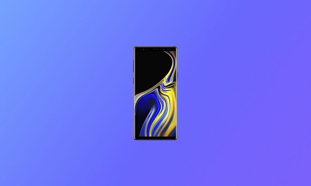 September Security Patch 2020: N960FXXS6ETHE For Galaxy Note 9