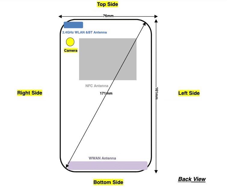 Nokia 3.4 - FCC design