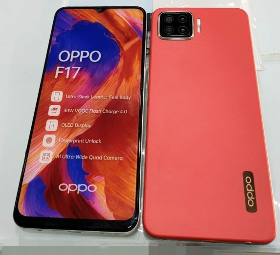 OPPO F17 - Dynamic Orange (dummy)