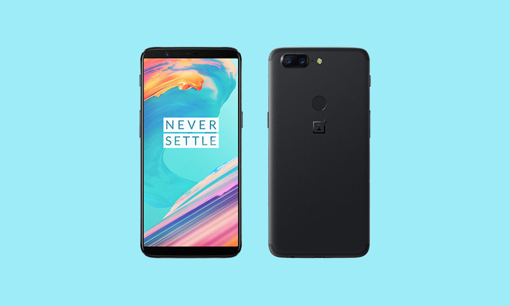 OnePlus 5/5T: Download and Install Android 11 AOSP ROM -YAAP