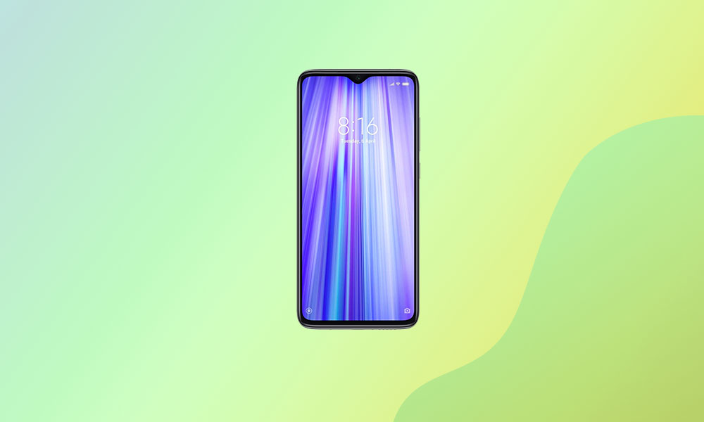Redmi Note 8 Pro: August security with V12.0.3.0.QGGMIXM Global Stable ROM