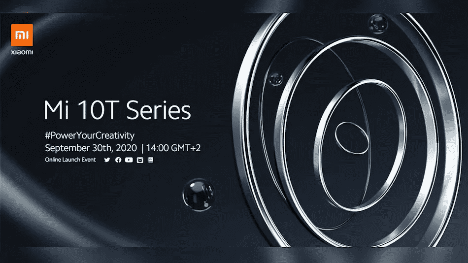 Xiaomi Mi 10T series launch date