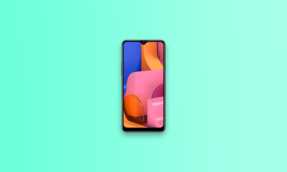 August 2020 Security - A207FXXU2BTI1: Galaxy A20S (MEA and Asia)