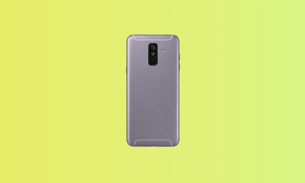 A605FNXXU6CTH1: Galaxy A6+ bags August Security Patch in Europe