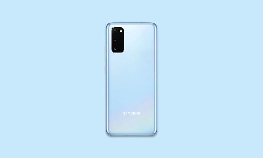 G981USQS1BTJ5: October Security For Verizon Galaxy S20