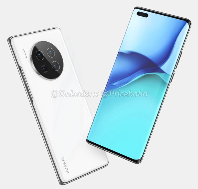 Huawei Mate40 Pro leaked render