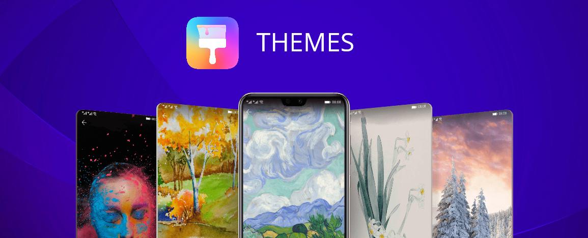 Huawei Themes application
