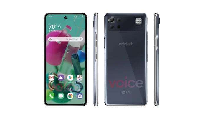 LG K92 leaked render