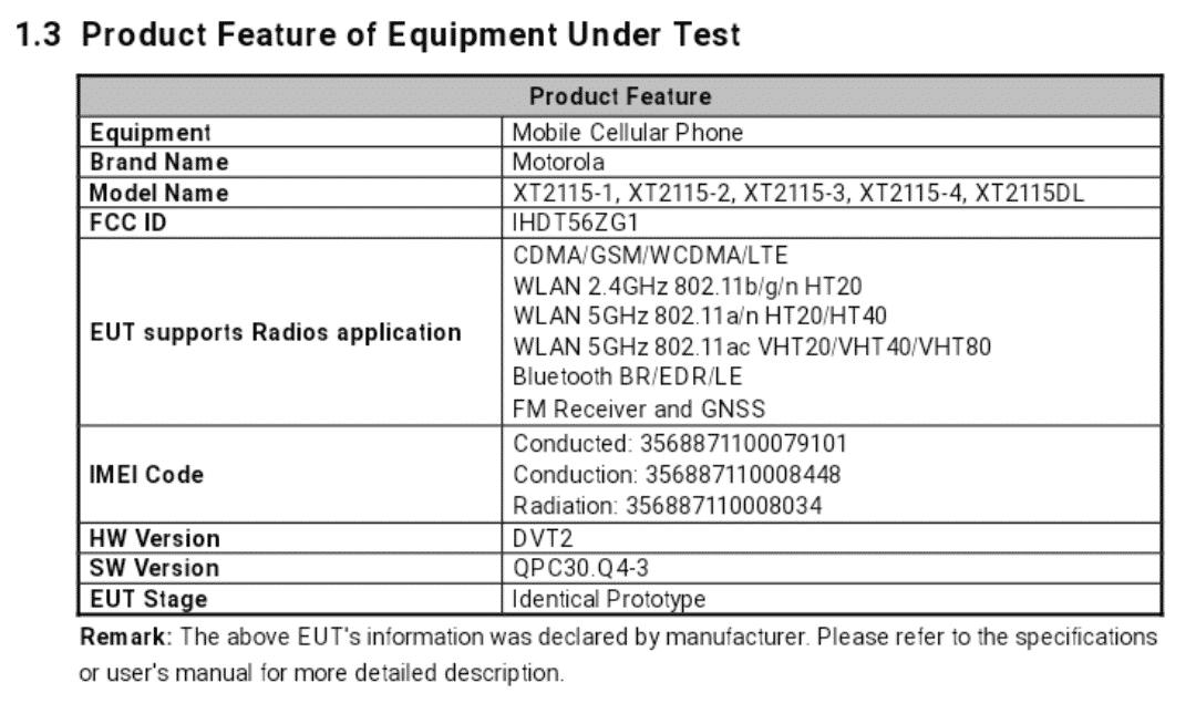 Motorola XT2115 - FCC(1)