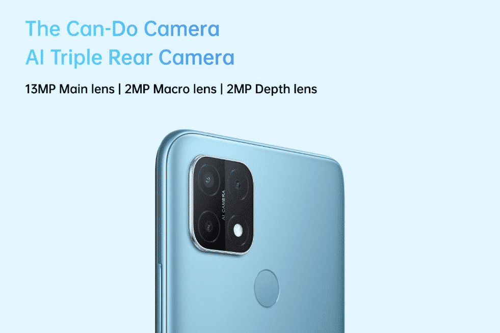 OPPO A15 - camera details