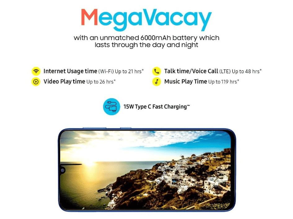 Samsung Galaxy M31 Prime - display