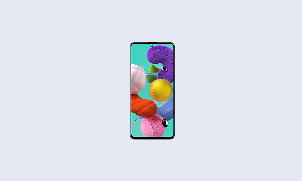 October Security Patch 2020: A515FXXU4CTJ1 For Galaxy A51 (Global)